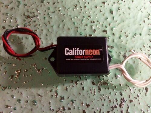"""Electroluminescent door sill lights 2/"""" X 24/"""" AQUA /& 12V Inv 2 MFG IN USA!!"""