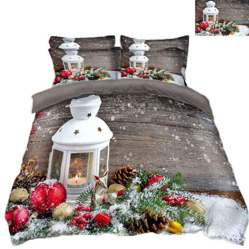 3D Christmas  Xmas 373 Bett Pillowcases Quilt Duvet Startseite Set Single Königin König