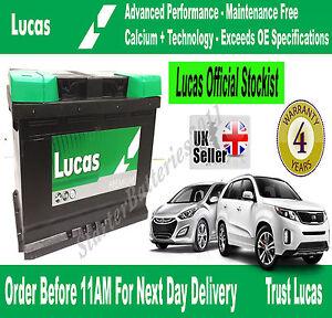 PEUGEOT /& CITROEN Lucas LS096 Car /& Van OEM Replacement Battery TYPE 096