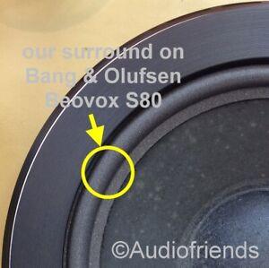 Bang-amp-Olufsen-Beovox-S35-2-S40-S50-S80-gt-Foam-surrounds-for-repair-speaker