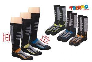 2 Paar kuschlig warme Thermo Socken Skisocken Kniestrümpfe Gr. 35-38 NEU + OVP o