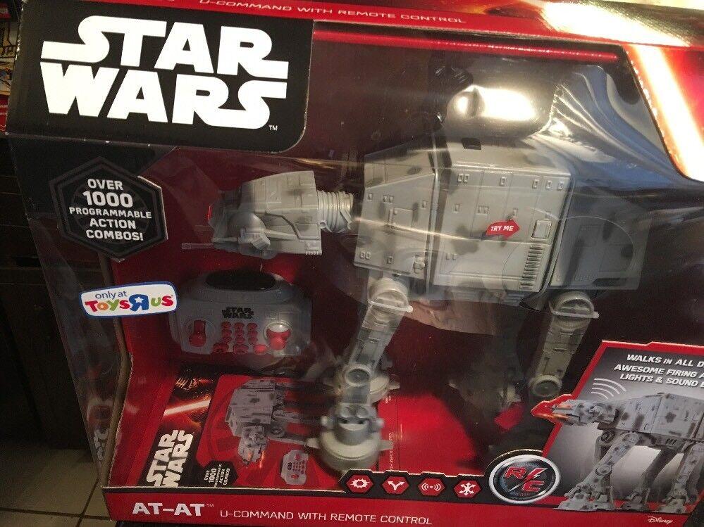 Nuevo Star Wars The Force despierta U Command Control Remoto Poe X Wing Fighter