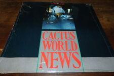 "CACTUS WORLD NEWS - Vinyle Maxi 45 tours / 12"" !!! YEARS LATER !!! MCAT 1024 !!!"