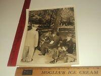 Rare Historical Original VTG WW2 Washington Square NYC Checker Scene 1944 Photo