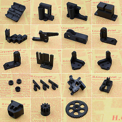 Printed Parts Kit For RepRap Prusa i3 Rework Black PLA 3D printer DIY
