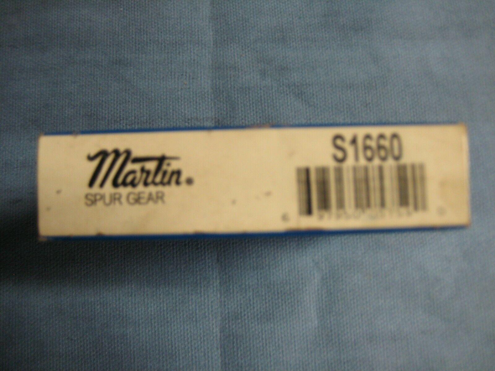 Martin S1660 Spur Gear (60 Tooth, 16 DP, 14-1 2 Deg. PA)