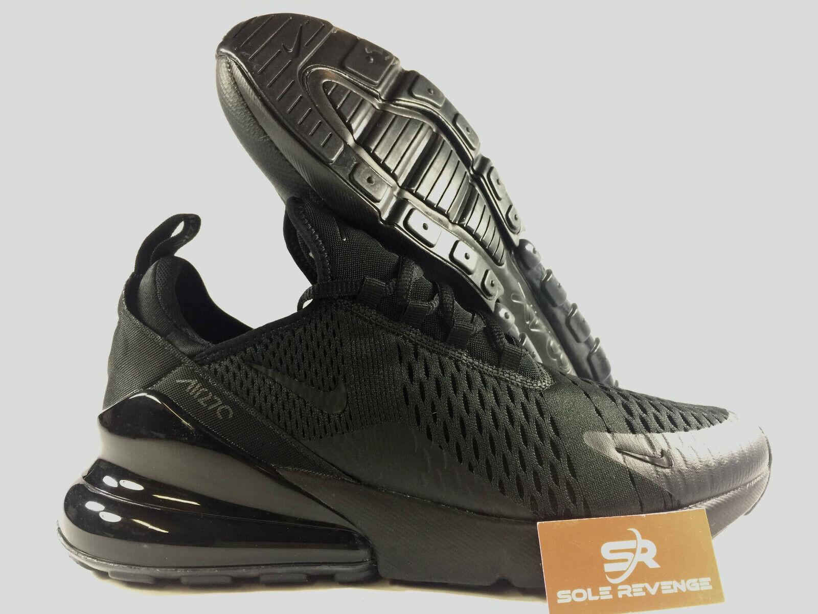 NOUVEAU NIKE AIR MAX 270  Triple Noir  AH8050-005 Chaussures Hommes c1