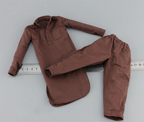 Asad Shirt /& Pants Model DID I80111 1//6 Scale Afghanistan Civilian Fighter