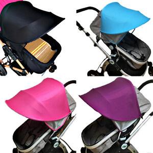 Sun-Ray-Canopy-pour-poussette-Landau-Buggy-mieux-que-poussette-parapluie-Sun