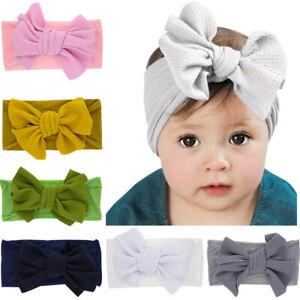 Newborn Toddler Kid Baby Girls Flowers Turban Headband Headwear Accessories gift
