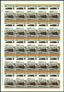 1912 Kpev G8 Classe 0-8-0 (allemagne) Imperf/imperforé Train Stamp Sheet-rate Train Stamp Sheet Fr-fr Afficher Le Titre D'origine