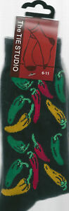 Chilli-Pepper-Mexican-Vegetable-Unisex-Novelty-Ankle-Socks-Adult-Size-6-11