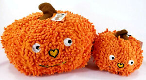 Grunter-Pumpkin-Halloween-Squonker-Soft-knobby-Dog-Toy-Grunter-Toys-Puppy-B61