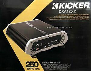 KICKER Amplifier 250 Watts 2 Channel 250w Dxa125 2 41DXA1252