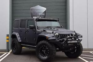 Jeep Wrangler 3 6 V6 Auto 2018my Overland Black Mountain Conversion