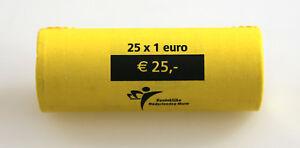 KMS-Set-Monete-Rotolo-Paesi-Bassi-2002-Non-Aperto-Blindrolle