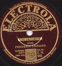 Frederic Lamond - Klavier spielt Franz Liszt : Gnomenreigen + Waldesrauschen