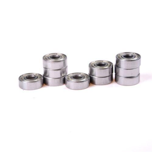 10pcs 624ZZ 4x13x5mm 624Z roulements à billes radiaux pièces de l/'imprimant OFQ