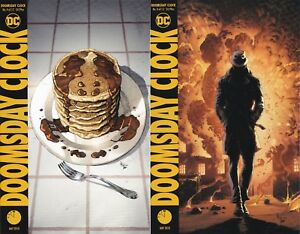 Doomsday Clock #11 of 12 A/&B Cover variant Set Ships FREE Ship Watchmen
