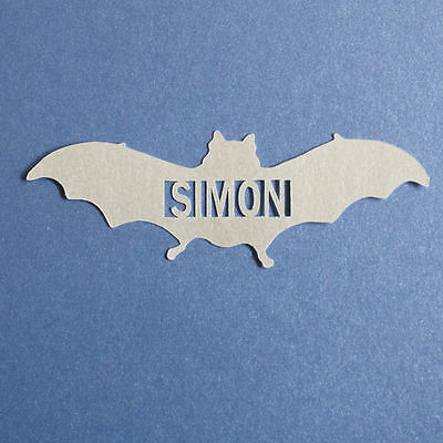 Unique Personalised Table Confetti Bat with Name - Birthday, Party, Celebration