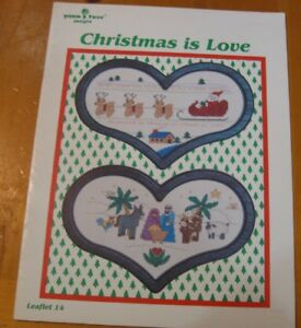 CHRISTMAS-IS-LOVE-CROSS-STITCH-LEAFLET