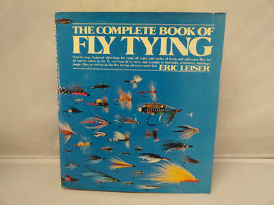 Fly-Tying How To Book Fresh Saltwater Fish Big Game 1st Ed Leiser
