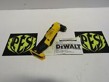 "NEW DEWALT DCD740 20VOLT MAX LITHIUM-ION 3/8"" 0-650/0-2000 RPM RIGHT ANGLE DRILL"