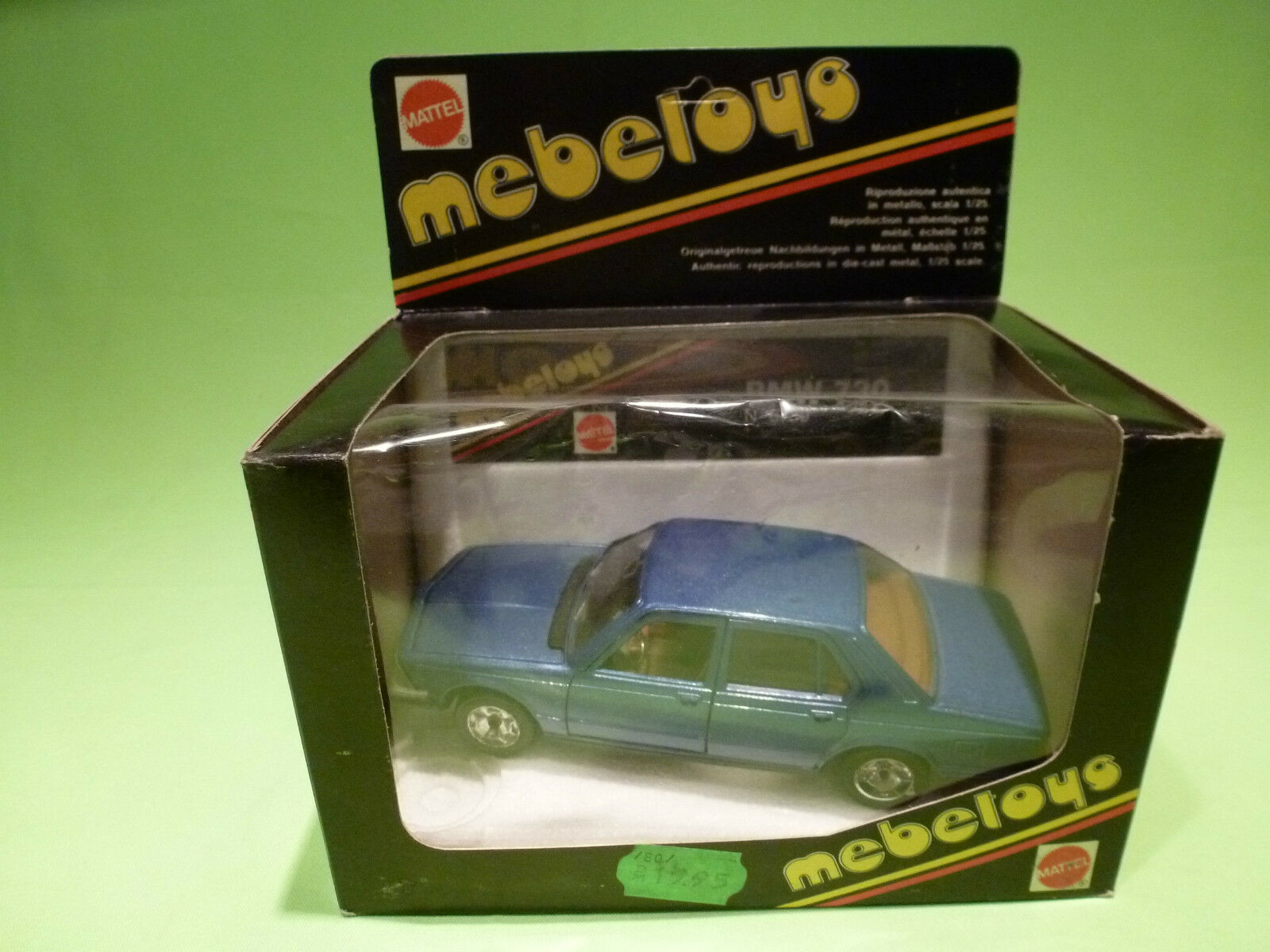 MEBETOYS  1 25  BMW 730   6739    IN ORGINAL BOX  -   IN GOOD CONDITION