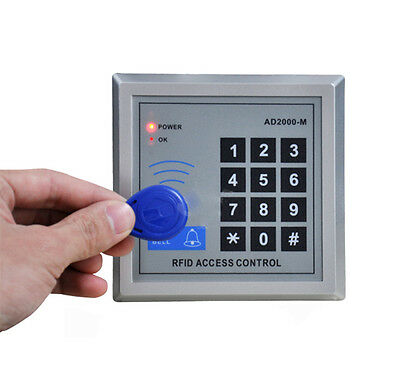 Security RFID Proximity Entry Door Lock Magnetic Access Control System 10 Keys