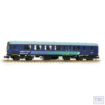 374-681a Graham Farish N Gauge Br Mk2a Bso Brake Second Open Drs Courier Vendite Economiche