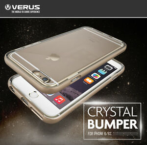 purchase cheap dd5fc bf3ec Details about Verus Crystal Bumper Slim Hard Clear View Cover For Apple  iPhone 6 6s plus Case