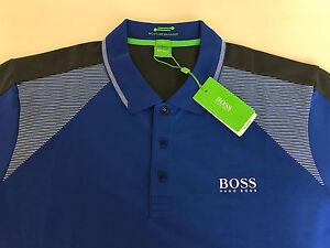 Image is loading Hugo-Boss-Green-label-Polo-Shirt-Paddy-Pro-