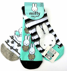 neu 3 paar miffy hase damen sneaker socken sterne bunny str mpfe 37 42 primark ebay. Black Bedroom Furniture Sets. Home Design Ideas