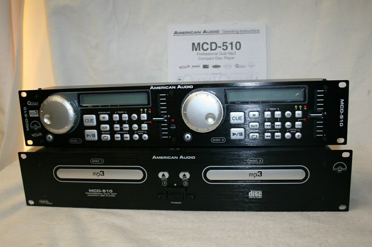 American Audio MCD 510 Dj CD Player in OVP gebraucht