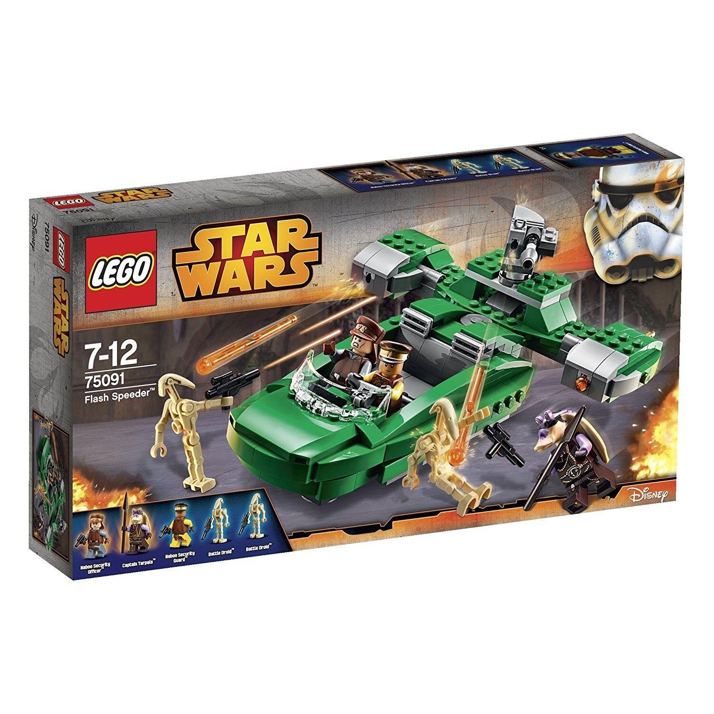 LEGO Star Wars/75091 Flash Speeder/RARO ✔ NUOVO CON SCATOLA NUOVO SIGILLATO ✔ Fast P & P ✔