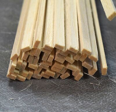 Sportivo Wws Balsa Wood Strips 3.2 X 6.5 X 305 Mm (1/8 X 1/4 X 12 Inch) - 45 Pack – Model