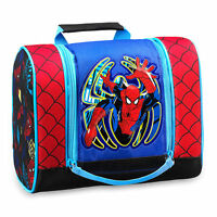 Disney Store Spiderman Super Hero Lunch Bag Kids Cooler School Lunch Box