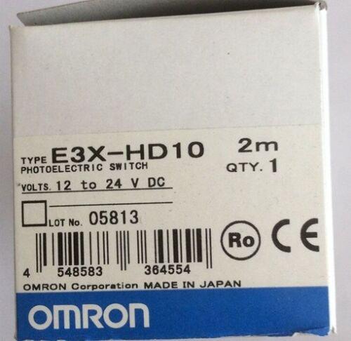1PC Nouveau OMRON Fibre Optique Capteur de proximité E3X-HD10 #017