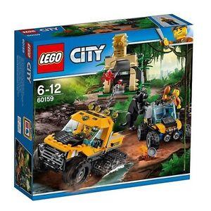 BRAND-NEW-LEGO-CITY-JUNGLE-HALFTRACK-MISSION-60159-SEALED