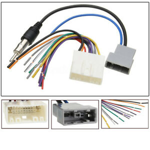 image is loading dvd-car-radio-install-stereo-wire-harness-cable-