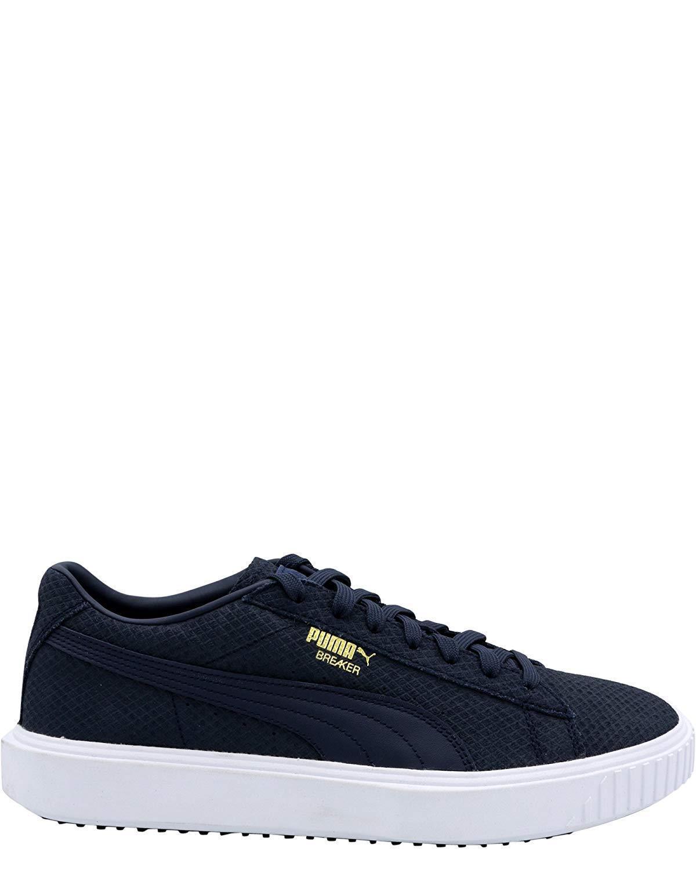 PUMA Men's Breaker Suede Sneaker