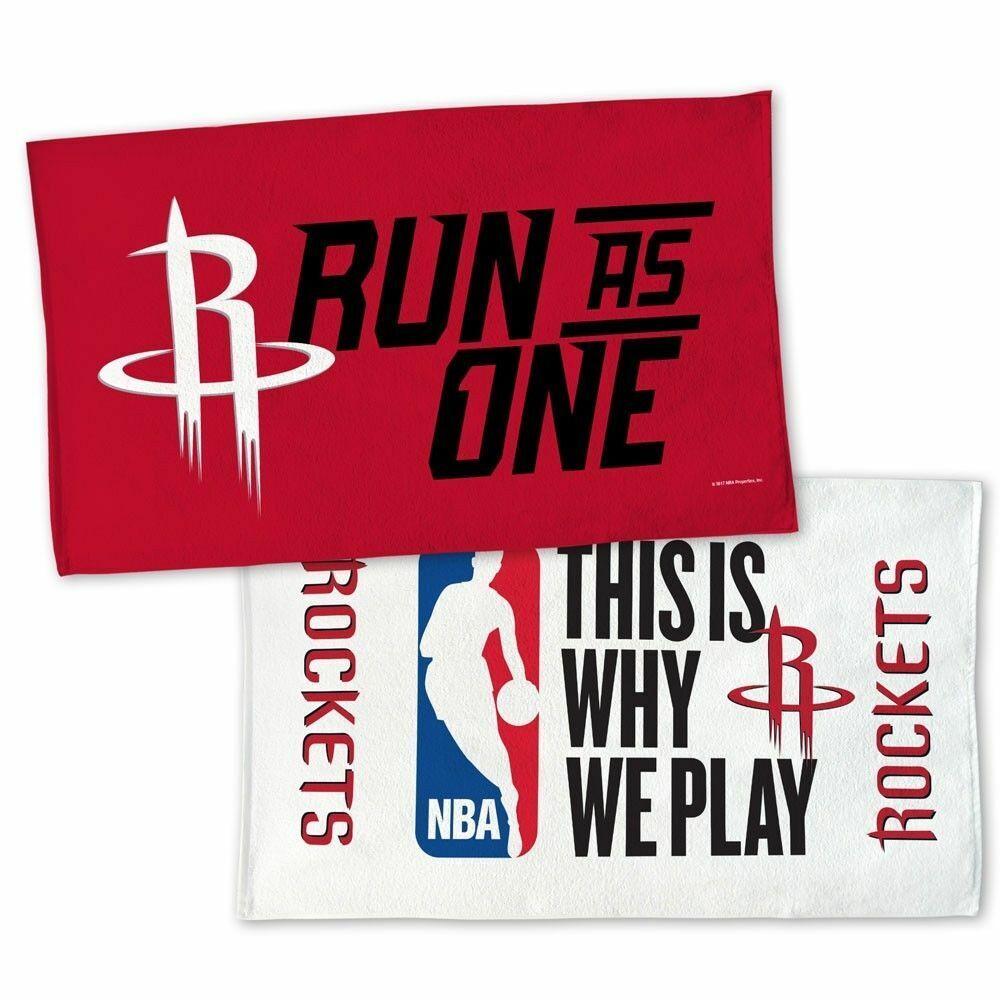 NBA Houston Run as One Rockets 2-Side 22