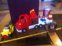 Duplo Car Boat Large Truck Small Figures Lot Preschool Classic Original Toy Lego