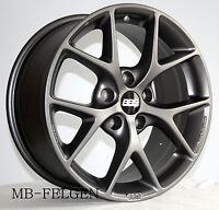 BBS SR himalaya-grau matt 19 Zoll Alufelgen 5x120 0362642# BMW 5er 6er X1 X3
