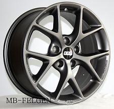 BBS SR himalaya-grau matt 17 Zoll Alufelgen 5x120 0358532# BMW 1er 2er 5er X1 X3