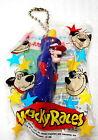 Vintage Wacky Races Dick Dasterdly PVC Plastic Figure Pen New Nos 1990s
