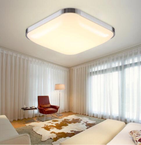 LED 24W Deckenleuchte Deckenlampe Wohnzimmer Badleuchte Flur Küchen Lampe