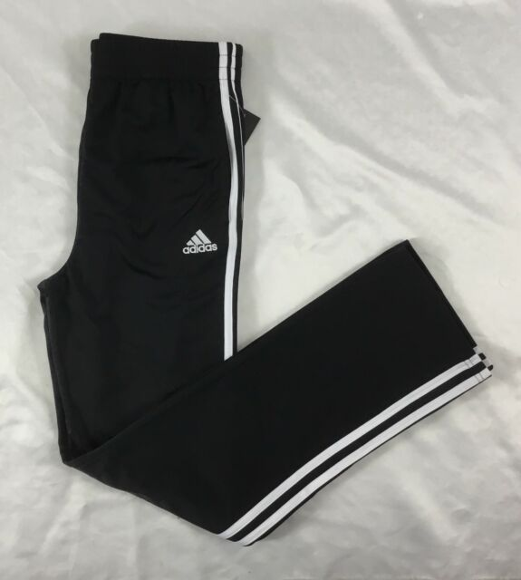 Black Sweat Loose Adidas 3 Youth Size Pants Xl Stripes Ak5415 White nqwnI1YB