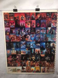 Barclay-Shaw-Fantasy-Art-Trading-Cards-UNCUT-90-CARD-SHEET-Poster-Size-FPG-1995