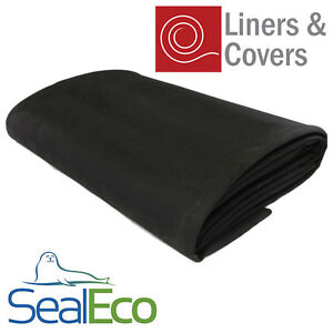 Sealeco epdm rubber pond liner thick heavy duty for Rubber pond liner